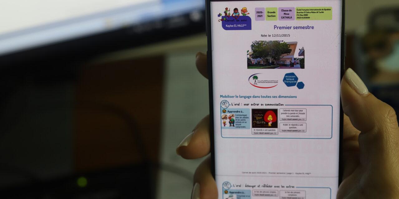 nouveau ! des carnets de réussite numériques en maternelle !