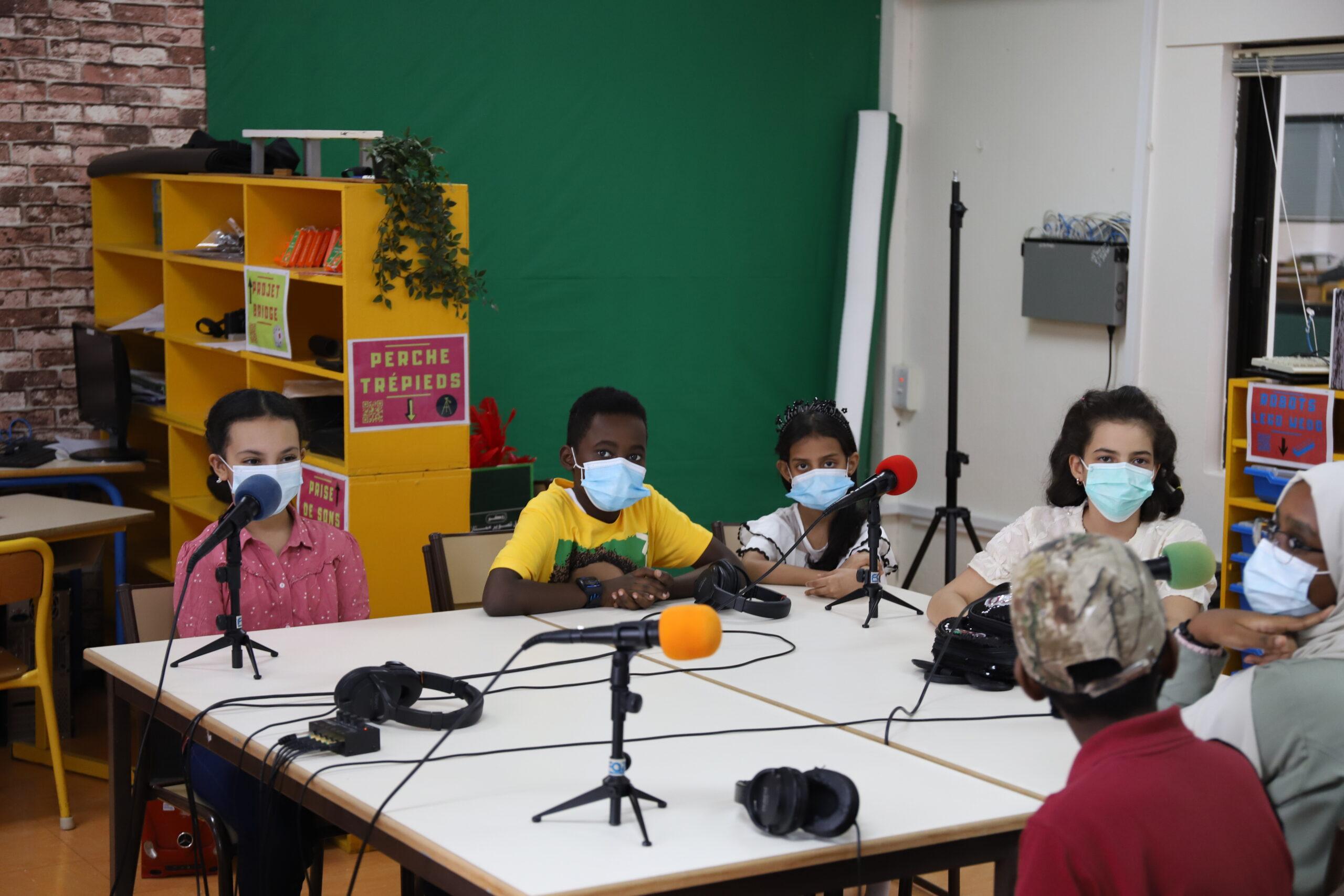 Découvrez l'émission spéciale des élèves des écoles francophones de Djeddah sur la webradio de l'efid