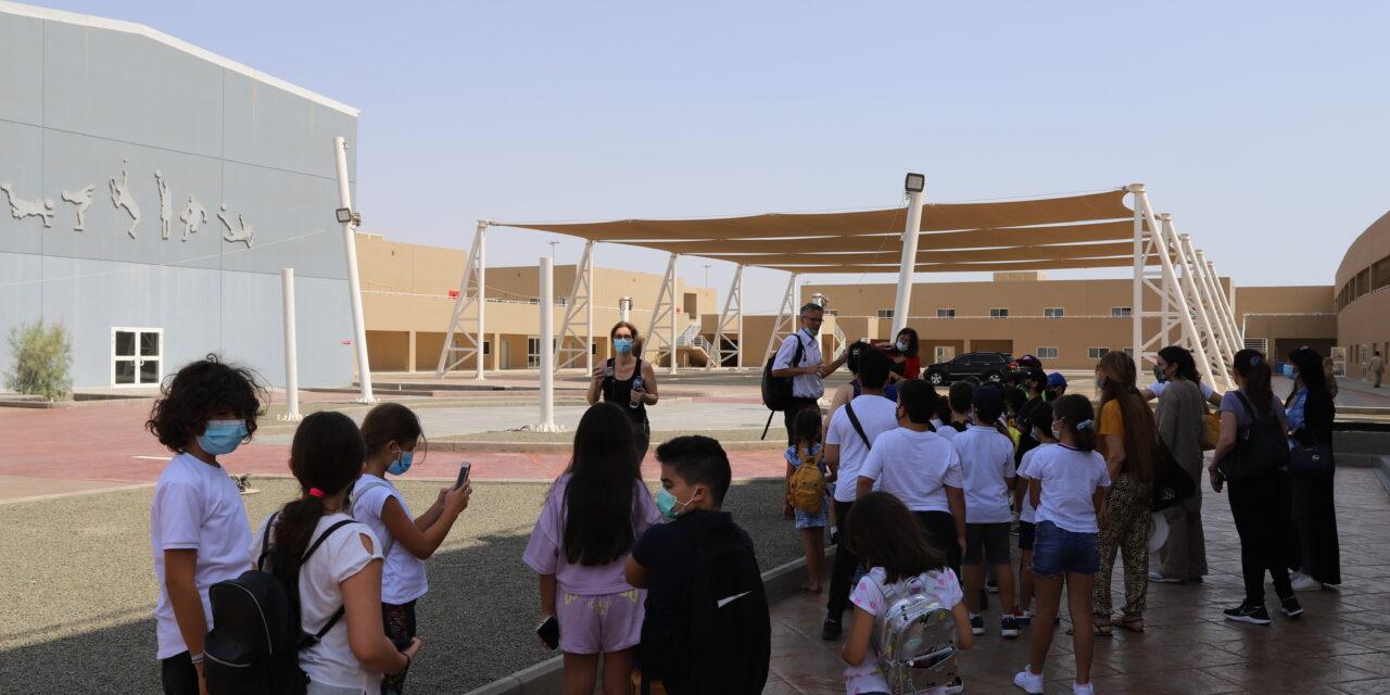 Les délégués des classes élémentaires à la découverte de leur nouvelle école